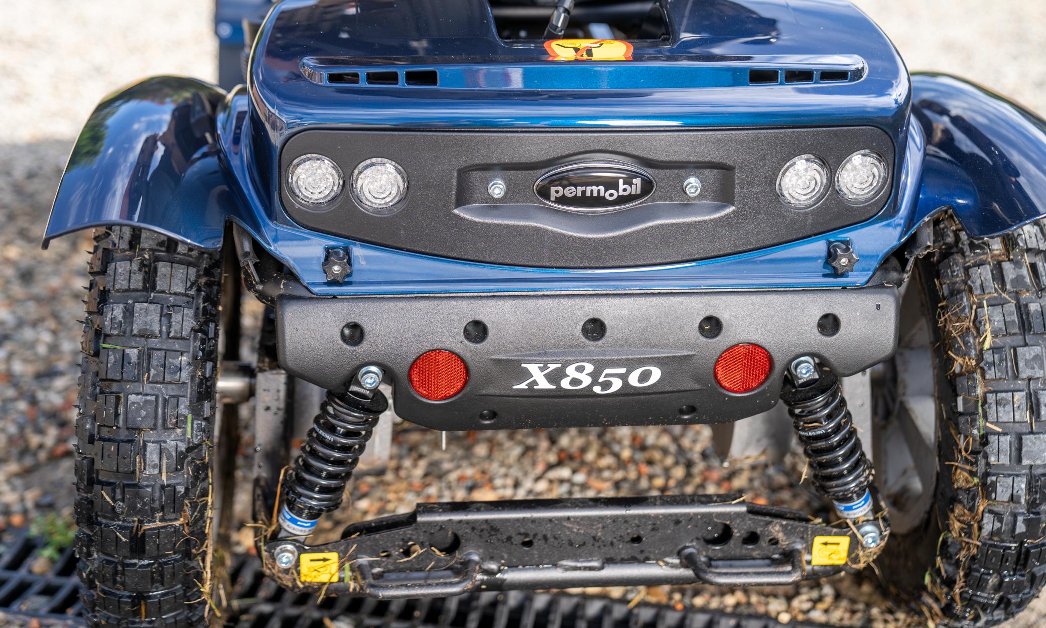 Permobil X850 Suspension
